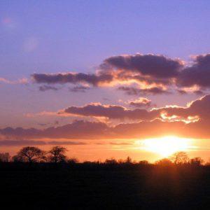Godminster Farm Sunset