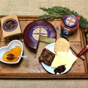 Godminster Christmas Cheese Board