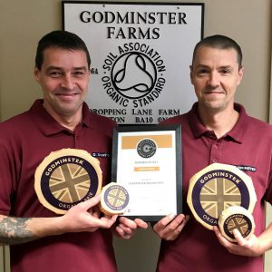 Godminster Great British Cheese Awards - Malcolm and Steve