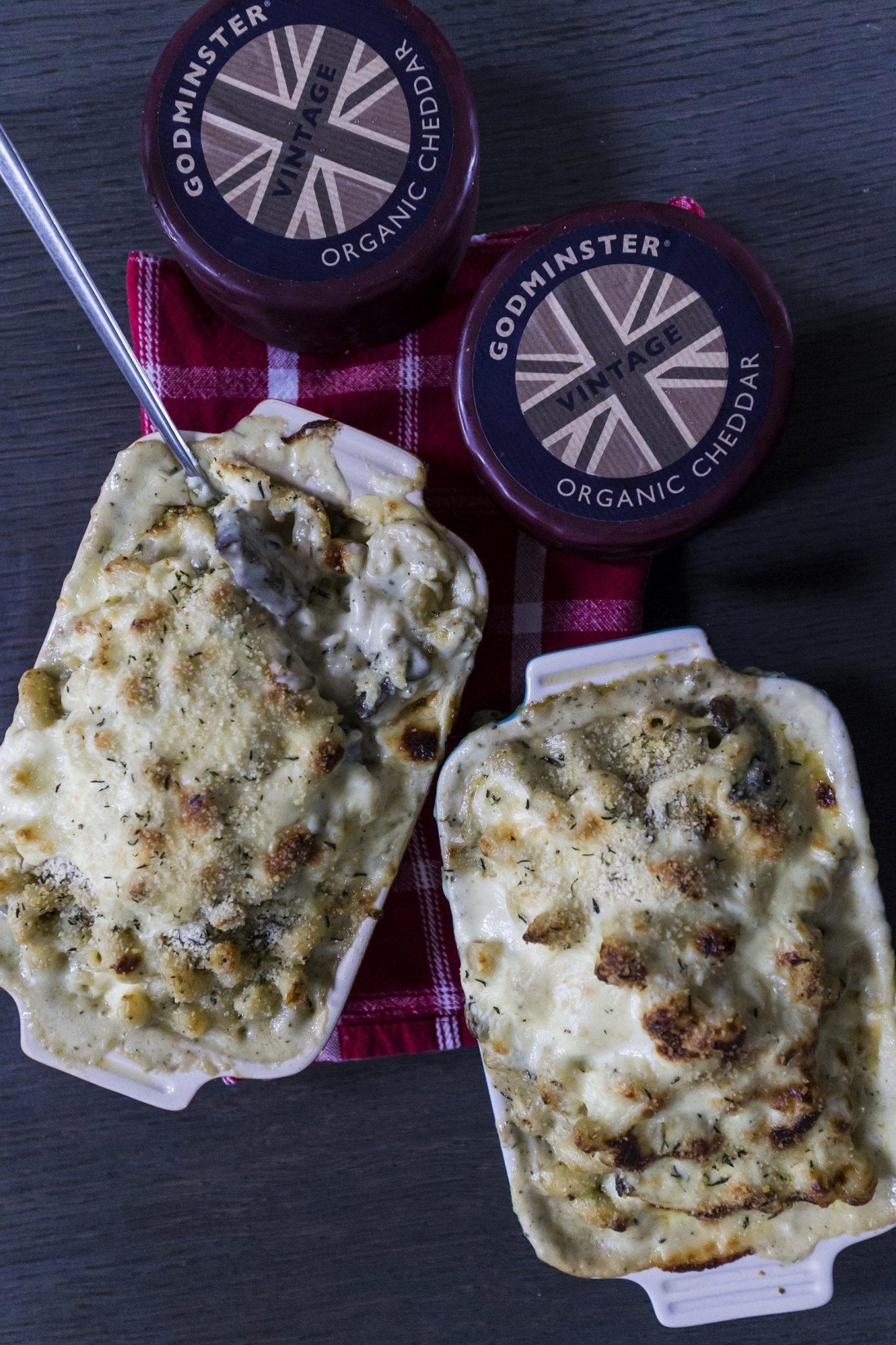 Godminster Truffled Mushroom Mac and Cheese