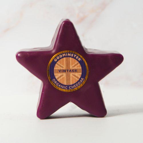 Godminster Star-Shaped Vintage Organic Cheddar