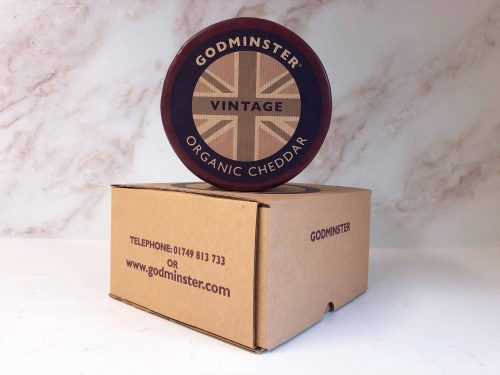 Godminster Vintage Organic Cheddar 2kg with box