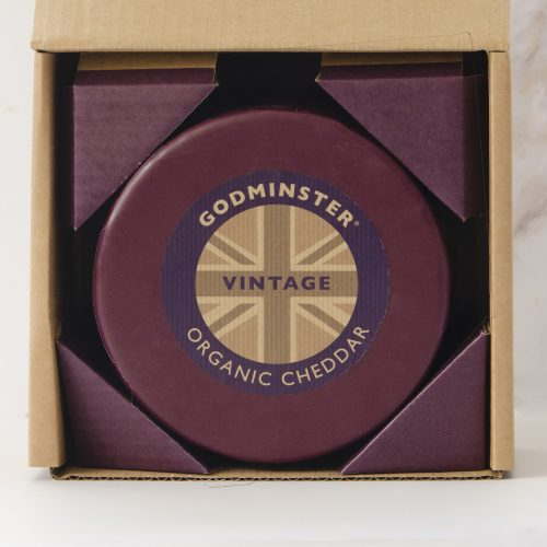 Godminster Vintage Organic Cheddar in Gift Box