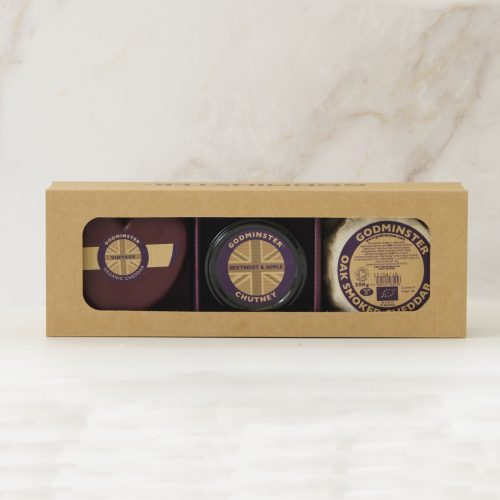 Godminster Cheddar and Chutney Collection