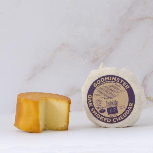 Godminster Oak-Smoked Vintage Organic Cheddar