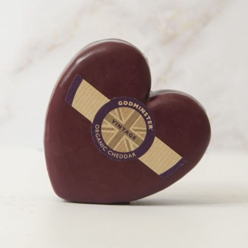 Godminster Heart-Shaped Vintage Organic Cheddar