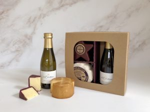 Cheddar and prosecco gift set - star