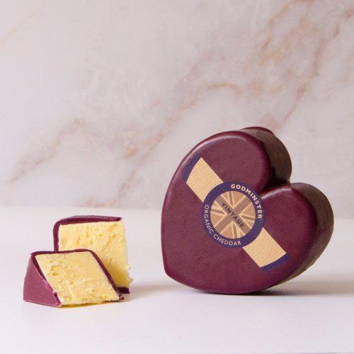 Godminster Heart-Shaped Vintage Organic Cheddar
