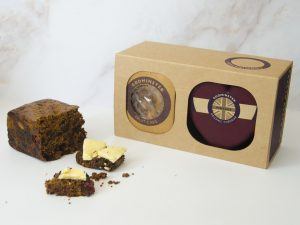 Godminster Vintage Organic Cheddar and Fruit Cake Combo