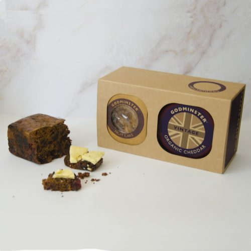 Godminster Cheddar and Fruit Cake Combo