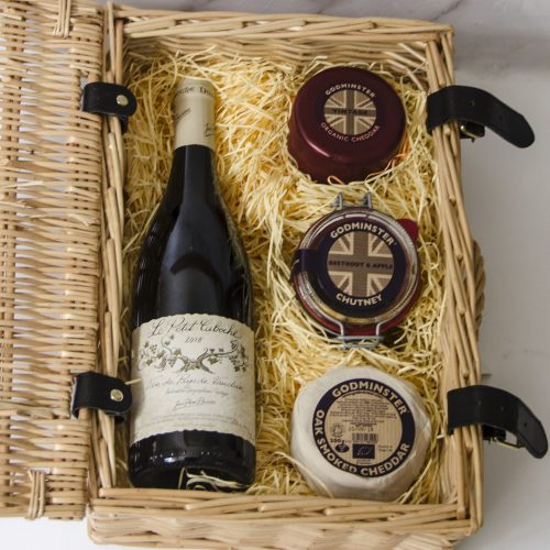 Godminster Classic Cheddar and Red Wine Hamper