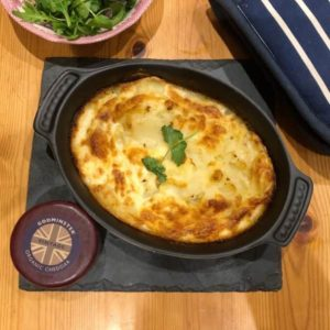 Godminster Cheddar Potato Gratin