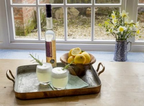 Godmisnter Elderflower Sour Cocktail