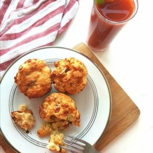 Godminster Cheddar and Bacon Brunch Scones