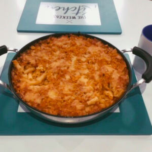 Godminster Cheese Mac with Tortilla Crumb