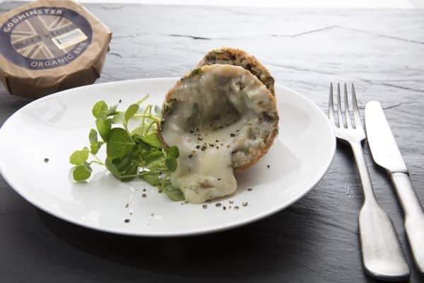 Godminster Truffled Wild Mushroom And Brie Arancini