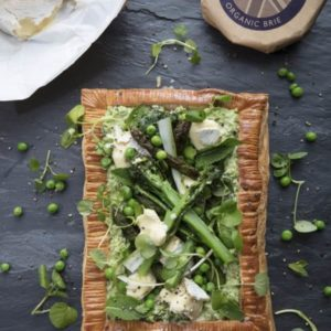 Godminster Broadbean, Pea And Asparagus Galette With Brie