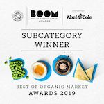 Boom Awards Best Of Organic Market 2019