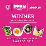 Boom Awards Best Of Organic Dairy 2019