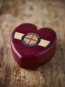 Godminster Organic Cheese - Heart Shaped