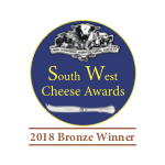 South West Cheese Awards Bronze 2018