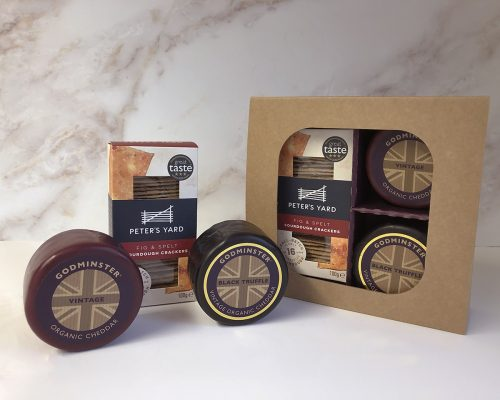 Cheddar and Black Truffle Signature Selection with Peters Yard - Round