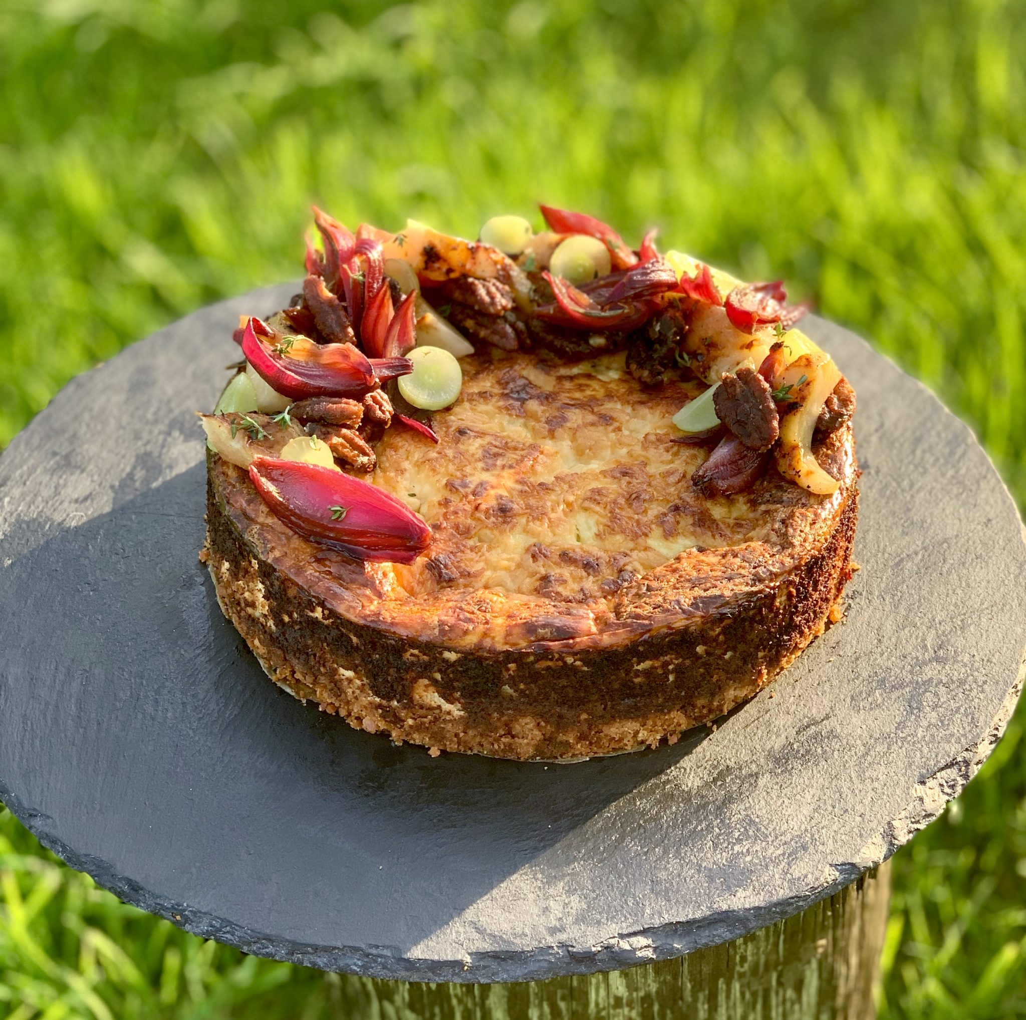 Godminster Cheeseboard Cheesecake by Steve James