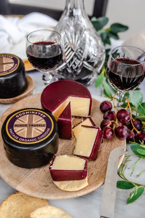 Godminster Port and Cheese Gift Set