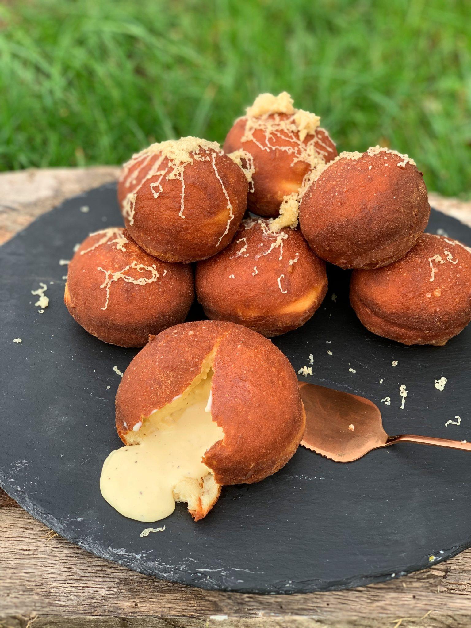 Godminster Black Truffle Doughnuts by Steve James