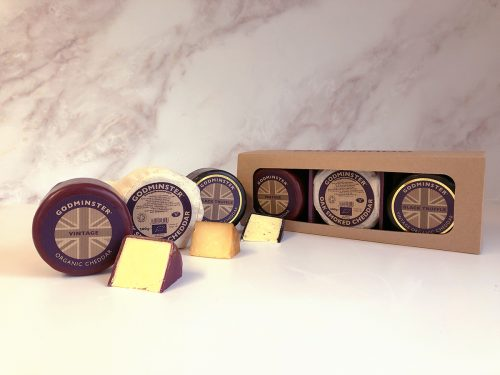 Triple Cheddar Collection with Slices