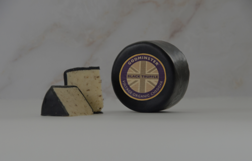Godminster Black Truffle vintage organic Cheddar Range