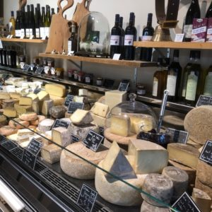 Godminster on tour elegant cheese counter