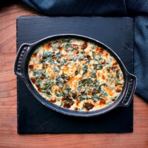 Godminster and Gruyere Creamed Spinach