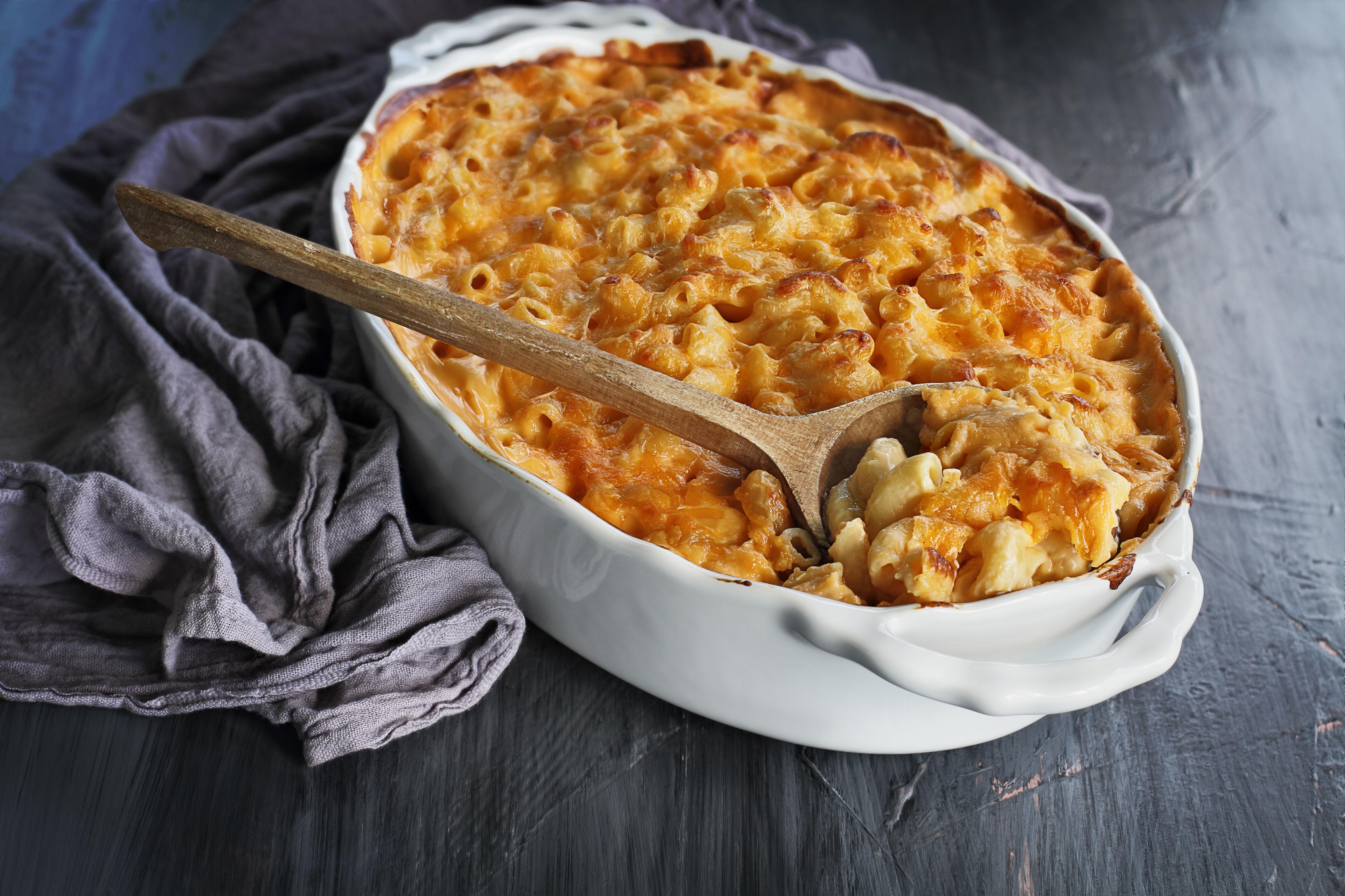 Four Cheese Truffle Mac & Cheese