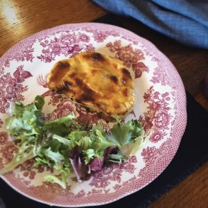 Godminster Vintage Organic Cheddar Cauliflower Rarebit