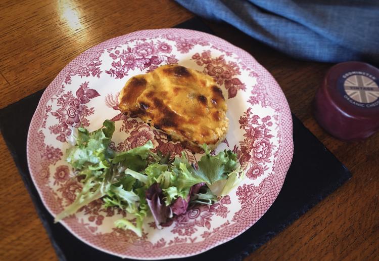 Godminster Vintage Organic Cheddar Cauliflower Rarebit