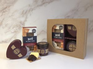Cheddar and Chutney Signature Selection with Peters Yard - Heart