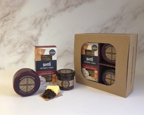 Cheddar and Chutney Signature Selection with Peters Yard - Round