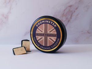 Godminster Black Truffle Vintage Organic Cheddar 1kg