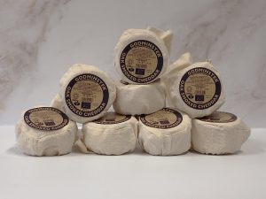 Case of Godminster Oak-Smoked Vintage Organic Cheddar