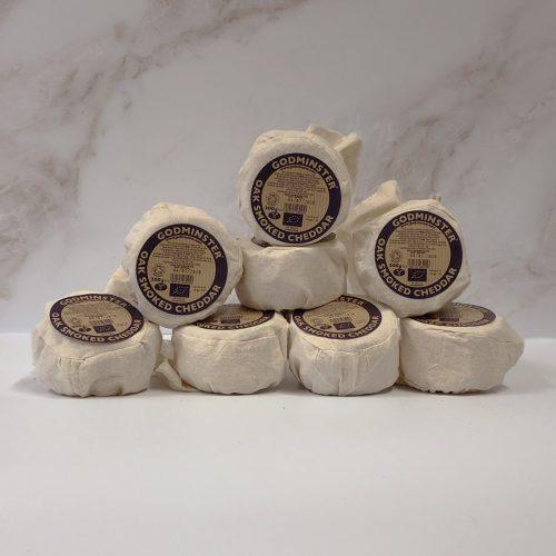 Case of Godminster Oak-Smoked Vintage Organic Cheddar
