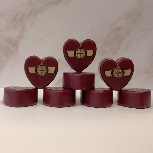 Case of Godminster Heart Shaped Vintage Organic Cheddar