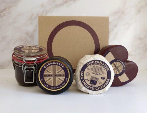 Cheese Board Gift Set - 2kg Box - Heart
