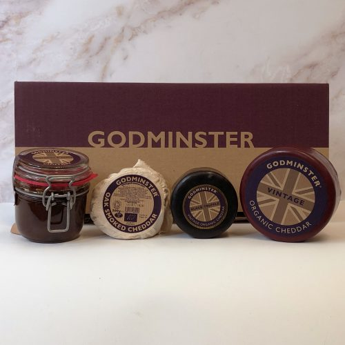 Godminster Limited Edition Cheeseboard Party Gift Set