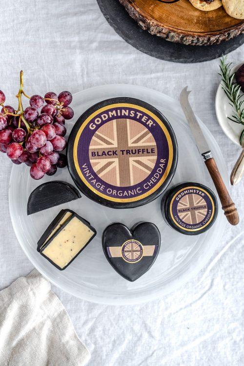 Godminster Black Truffle Vintage Organic Cheddar
