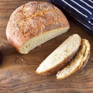 Cheesy Godminster Vintage Organic Cheddar Loaf