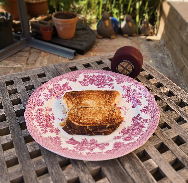 Sophie's Spicy Charcuterie Godminster Toastie