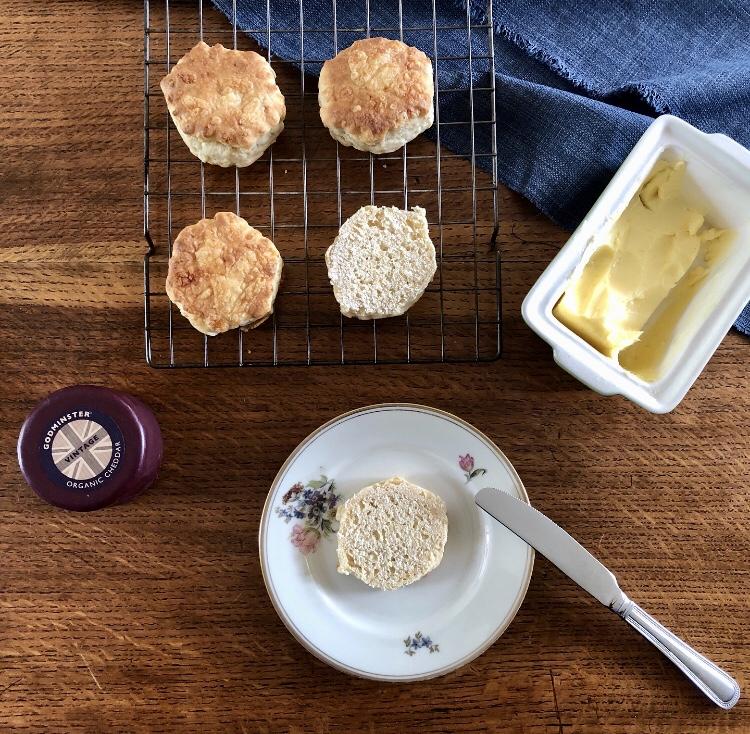 Godminster Vintage Organic Cheddar Cheese Scones