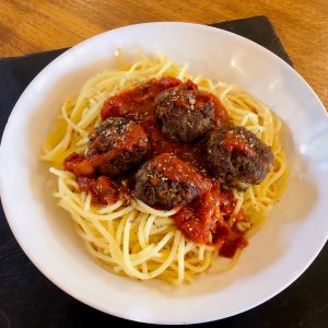 Deliciously Cheesy Godminster Meatballs