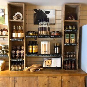 Selection of products at the Godminster shop